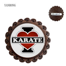 Jewelry Glass-Map Brooch Pin Logo Mahogany Collar Olympic-Judo Wholesale Popular Manufacturers