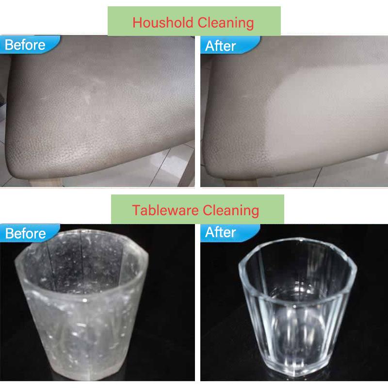 50pcs/lot Gray Magic Sponge Eraser Cleaning Multi functional Melamine Sponge 100*60*20mm Wholesale