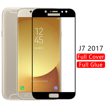 case for samsung j7 2017 cover tempered glass screen protector on galaxy j 7 7j j72017 protective phone coque 5.5 j730 original image