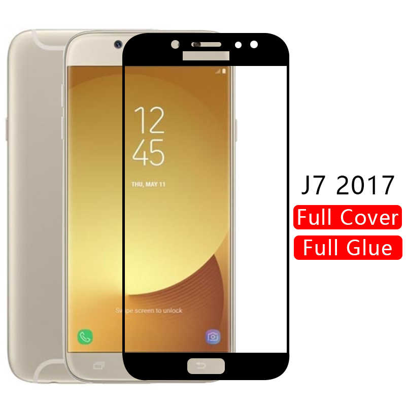case for samsung j7 2017 cover tempered glass screen protector on galaxy j 7 7j j72017 protective phone coque 5.5 j730 original