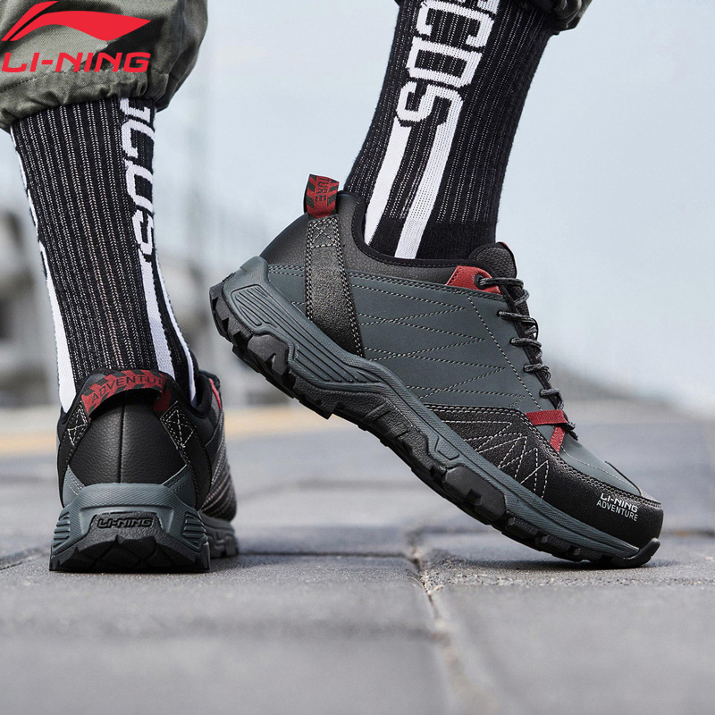 Li-Ning Men BRISK Outdoor Leisure Shoes Winter WARM SHELL Fleece LiNing Li Ning Wearable Sport Shoes Sneakers AHCN015 YXB332
