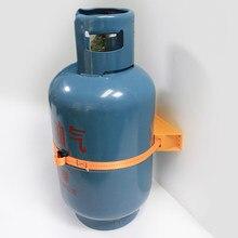 Rv caravana gás liquefeito cilindro fixação suporte do tanque de gás campista motorhome