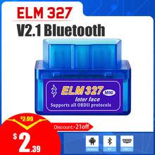 Elm327 bluetooth v2.1 para android elm 327 para android torque suporte leitor de código obdii