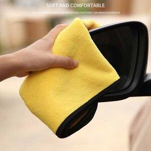 Image 2 - 3/5/10 Stuks Extra Zachte Wasstraat Microfiber Handdoek Car Cleaning Drogen Doek Car Care Doek Detaillering Auto Washtowel nooit Scrat