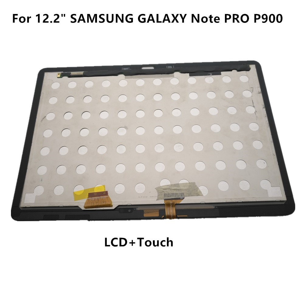 """For12.2/""""Samsung Galaxy Note Pro P900//P901// P905 White LCD Screen Touch Digitizer"""