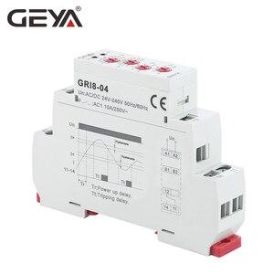 Image 4 - GEYA GRI8 04 과전류 및 과전류 모니터 0.05A 1A 2A 5A 8A 16A 전류 모니터링 릴레이