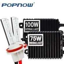 Xenon HID Headlight H11 100W Ballast HB4 8000K 9006 9005 H7 4300K HB3 881 H8 for 12V
