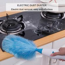 Multifunctional 360° Adjustable Electric Feather Spin Duster Dirt Cleaner Brush Household Furniture Blind Window Cleaning Tools