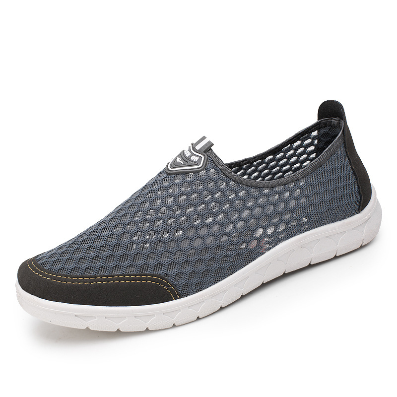 Sneakers Men 2020 Casual Light Air Mesh Men Shoes Male Tennis Solid Color Breathable Male Shoes Comfortable Outdoor Man Shoes