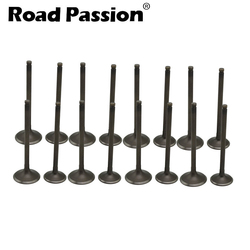 Road Passion Motorcycle Intake & Exhaust Valve Stem Kit For Suzuki Hyosung GT250 GSX-R400 RF400 78A+VC GSF400 Bandit 1997 79A+VC