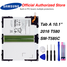 Original Samsung EB-BT585ABE Battery For Tab A 10.1 2016 BT580 SM-T585C 7800mAh