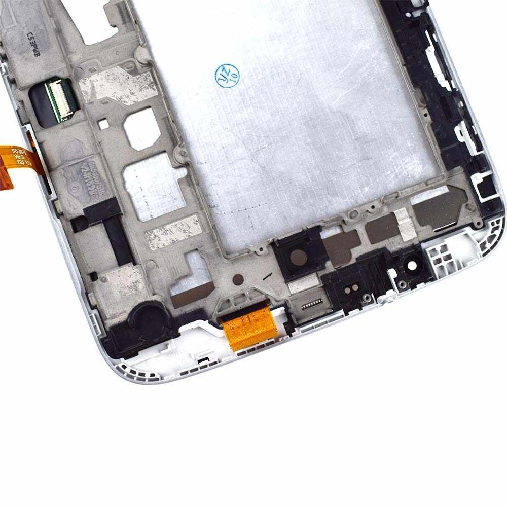 شاشات lcd لسامسونج غالاكسي ملاحظة 8.0 N5100 GT-N5100 N5110 محول الأرقام بشاشة تعمل بلمس الاستشعار شاشة الكريستال السائل شاشة لوحة الجمعية الإطار
