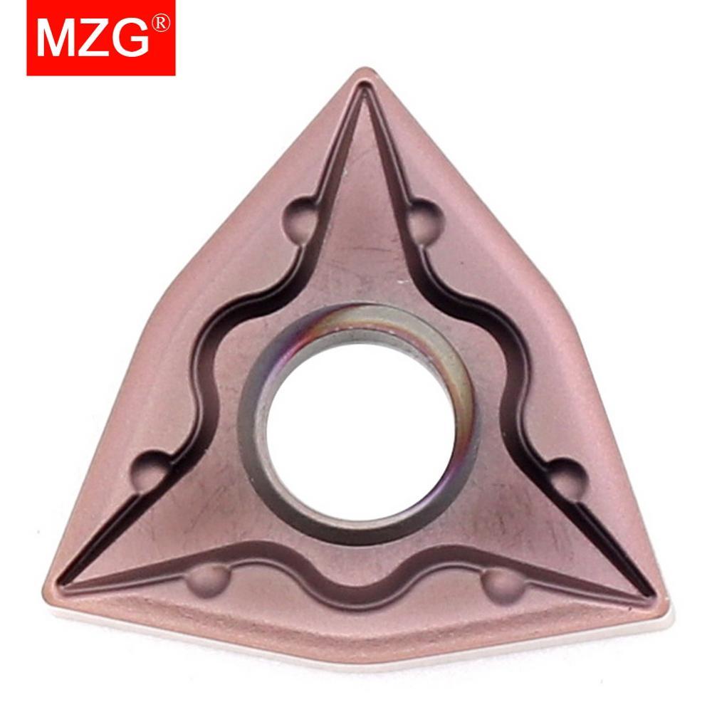 MZG 1PCS CNMG120404 PCD CNC Aluminum Copper Machining Turning  Diamond Inserts