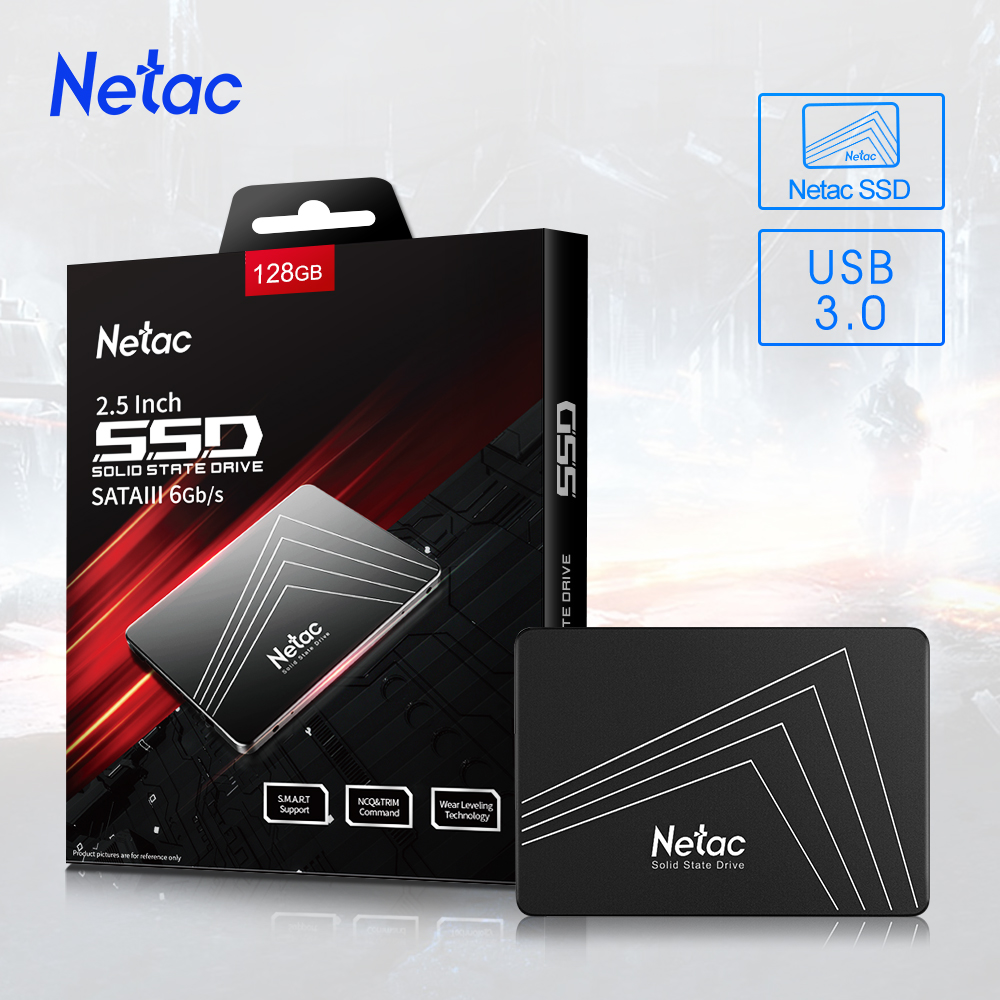 Netac N530S ssd 1tb 2 5   SSD SATA SATAIII ssd 500gb 250gb 128gb Internal Solid State Drive for Laptop hard drive