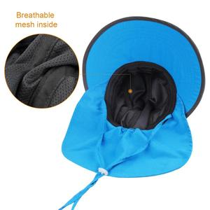 Image 4 - FURTALK dzieci kapelusz na lato dziewczyny kapelusz przeciwsłoneczny dla chłopców z klapą na szyję ochrona UV Safari kapelusz dziecko dziecko lato czapka podróżna 2 12 lat