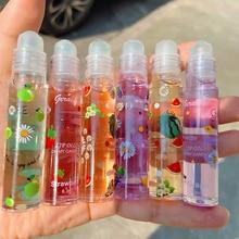 Lip-Balm Lipstick Lip Gloss Fruit Transparent 6-Colors Mirror TSLM1 Primer Moisturizing