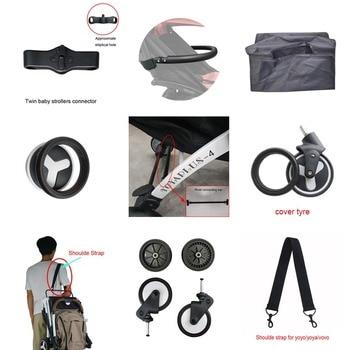 stroller accessories kinds of Bebe accessories  Shoulder strap Cover tyre connectors Crossbar For yoya plus,Yoyo babyzen ,etc