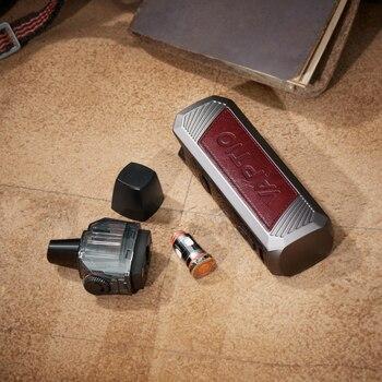 Cadeau! Vaptio PAGO – Kit de démarrage 1500mah, 45W, mod intégré, cartouche rechargeable 4.3ml, écran LED