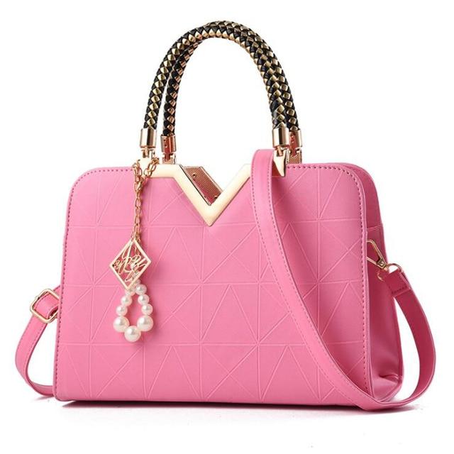 Famous Designer Brand Bags Shoulder Crossbag Women PU Handbags Luxury Ladies Hand Bags Satchels Shoulder Bags Uncategorized Fashion & Designs Ladies Bags Luggage & Bags Women's Fashion