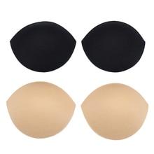 Swimsuit Chest-Pad Underwear-Bra Bra-Pads Insert-Gasket Removeable-Enhancer Sponge 2PCS