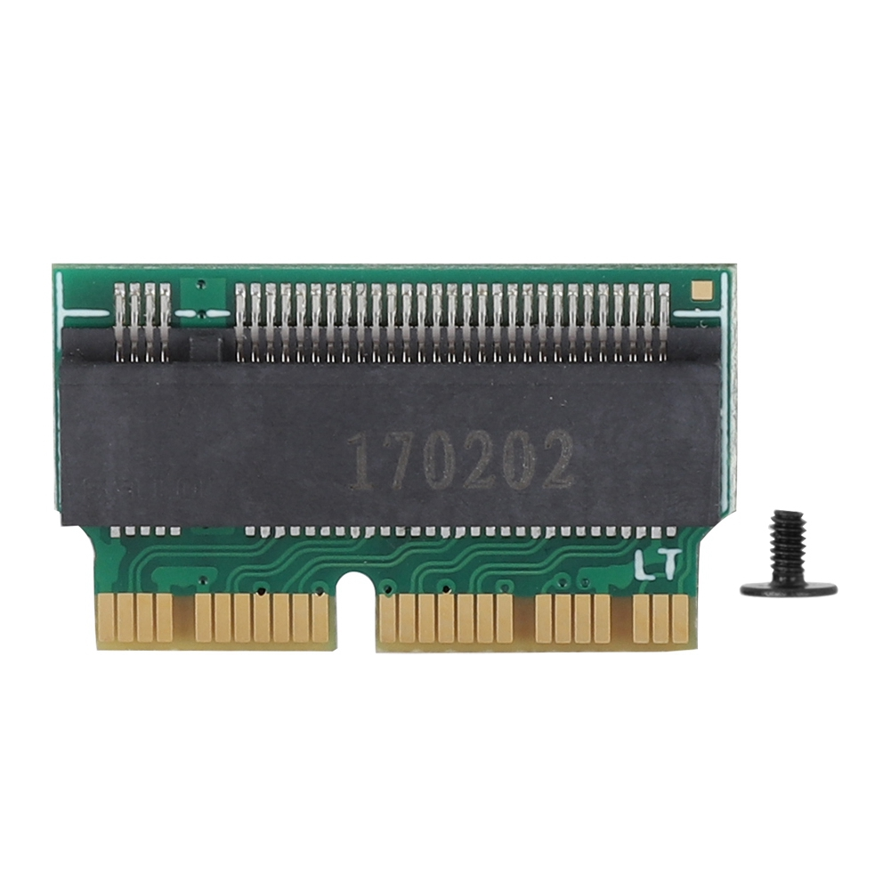 <font><b>Adapter</b></font> Card Hard Disk 2280 <font><b>PCIe</b></font> <font><b>X4</b></font> <font><b>M.2</b></font> AHCI NGFF To NVME SSD <font><b>Adapter</b></font> Converter Card For Mac Book​ image