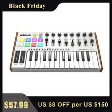 WORLDE THUNFISCH MINI Neue Ultra Tragbare 25 Key USB MIDI Tastatur Controller Zwei Arten von MIDI Tastatur Matten