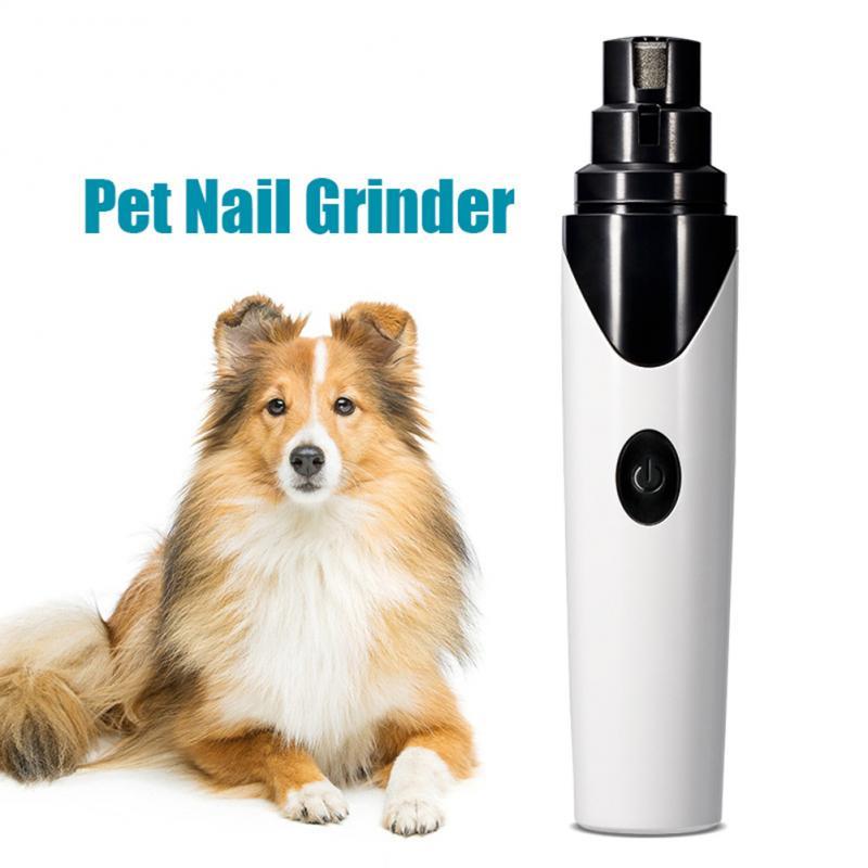 Перезаряжаемые мельницы для ногтей для собак, профессиональные электрические кусачки для ногтей для собак, кошек, бесшумные безболезненные инструменты для ухода за ногтями, Прямая поставка