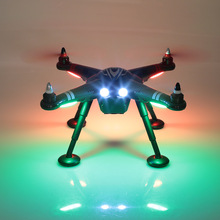 X380 2.4G 6-axis RC Quadcopter GPS RTF GPS Drone Brushless1080P HD Camera with Headless Mode RC Drone Remote Control Helicopter