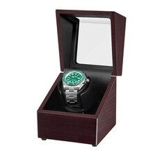Automatic Watch Winder Ebony Watches Box Jewelry Storage Case Organizer Watch Accessories AC adapter Ultra-quiet Japanese motor