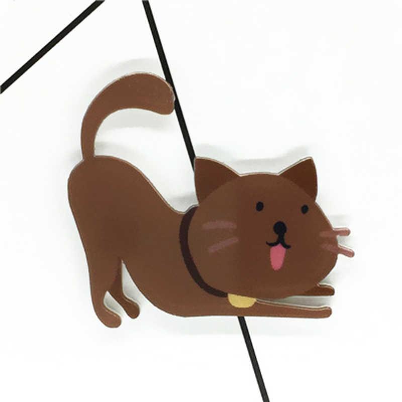 Cartoon Brooch Badge Lovers Pin Cute Cat Enamel Pin Denim Jackets Collar Badge Pins Lapel Pin Princess Jewelry Clothing Ornament