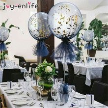 1pcs Balloon Tulle yarn mesh Roll Wedding Bridal Shower Decoration Balloons Cover Birthday Baby Party Baloon