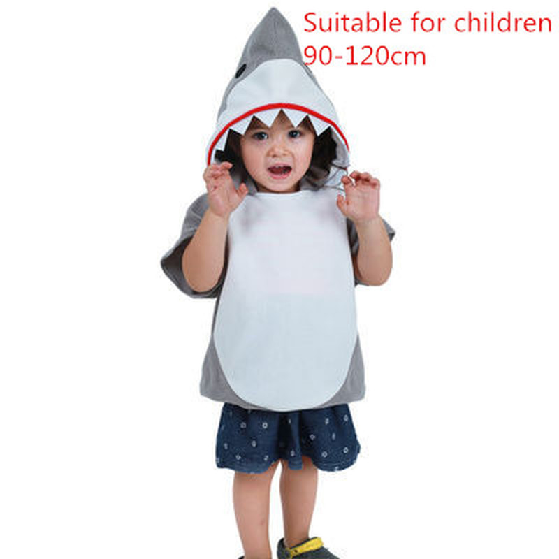 Halloween Kids Shark Cosplay Costume Party Party Game Play Costume