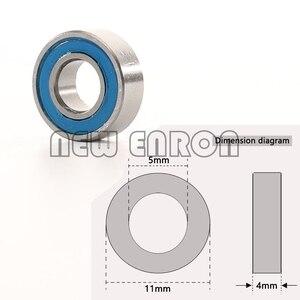 Image 5 - חדש אנרון כחול כדור נושאות 33PCS ערכת מטרי גומי אטום על שני הצדדים RC רכב עבור Traxxas דואר Revo מירוץ 52100 כרום פלדה