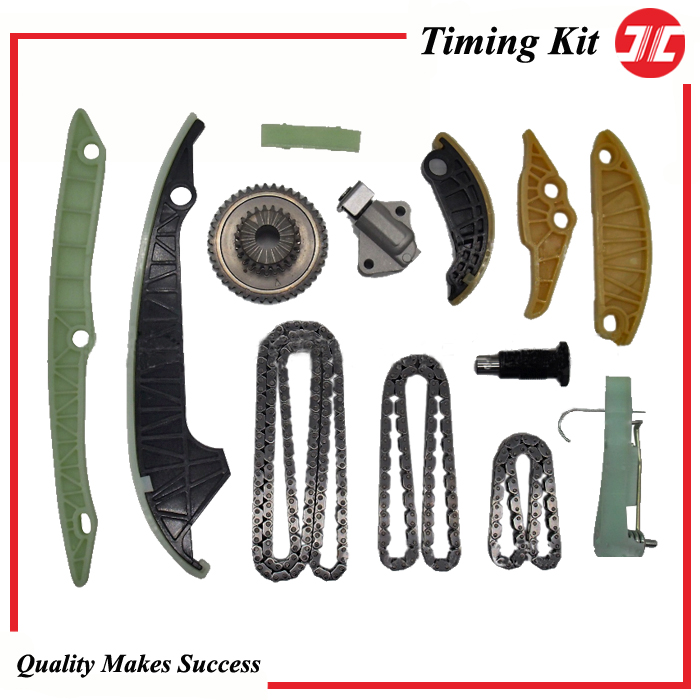 TCK1105 JC Timing chain kit for VOLKSWAGEN EA888 3rd Generation Amarok 2H and Passat 362 1 8 2 0 TSI Engine spare parts in Timing Components from Automobiles Motorcycles