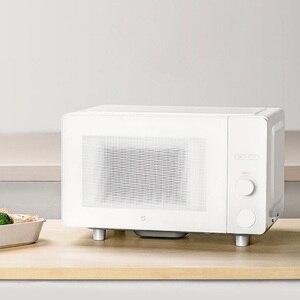 Image 4 - Xiaomi Smart Magnetron Broodrooster Geïntegreerde Machine 23L Capaciteit Stereo Uniform Speed Hot Classificatie Ontdooien App Controle
