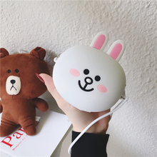 Creative Casual Card Holder Business Case Soft Silicone Cute Cartoon Box Cover Women Credit Wallet