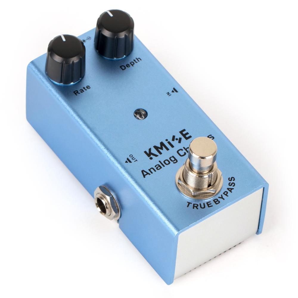 Kmise Analog Chorus Guitar Effect Pedal Mini Single DC 9V True Bypass For Electric Guitar