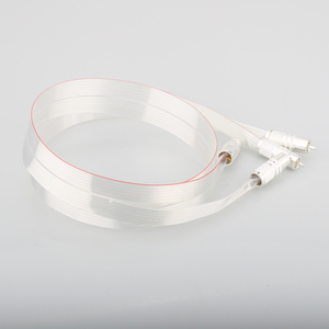 Image 5 - SR 02 RCA de alta calidad con conector RCA plateado, cable de altavoz de interconexión