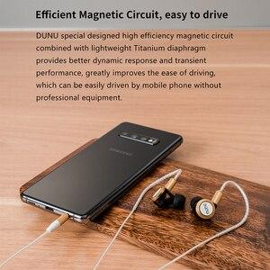 Image 5 - DUNU DM380 Linearlayout Triple Titanium Diafragma Driver In Ear Oortelefoon HiFi Actieve Crossover met MIC/3 knoppen Gemakkelijk Gedreven