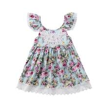 цена на New Fashion Summer Baby Girl Dress Flora Baby Girls Sleeveless Dress Children Dress Embroidery Ruffle Design Party Dress J11