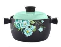 High temperature and heat resistant ceramics soup pot casserole korean natural healthy casserole kitchen pots cookware