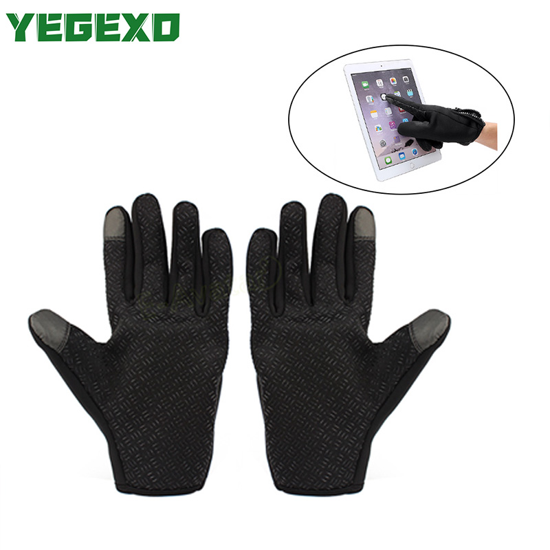Motorcycle Gloves Waterproof Touch Screen For yamaha rd <font><b>350</b></font> <font><b>honda</b></font> <font><b>xr</b></font> 600 suzuki burgman 400 ktm exc 300 suzuki burgman 650 image