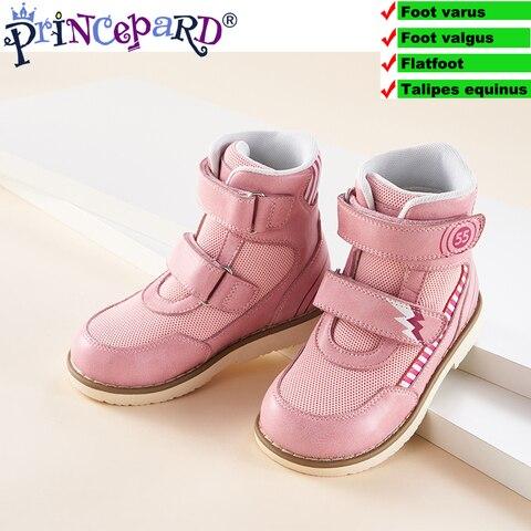 princepard 2019 primavera outono criancas sapatos ortopedicos