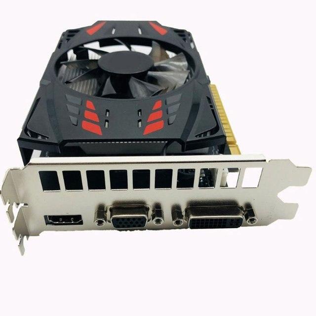 Gtx1050ti 4gb ddr5 gr hics cartão de 128bit hdmi-compatível dvi vga gpu placa de vídeo do jogo para jogos de computador nvidia 2