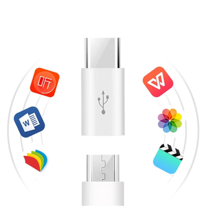 Image 5 - 2 adet mikro USB tip c USB şarj kablosu adaptörü dönüştürücü için P9 P10 P20 LG G5 g6 Samsung S8 S9 artı şarj cihazı konektörü