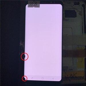 Image 4 - Original super amoled s8 lcd para samsung galaxy s8 g950 g950f display lcd tela de toque digitize com pontos pretos