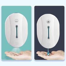 550ml Soap Dispenser Touchless Automatic Sensor Foam Soap Dispenser Liquid Gel Alcohol Spray Dispenser Kitchen Bathroom Gadgets