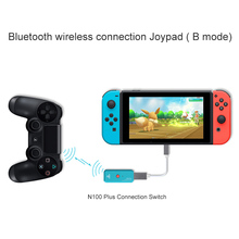 N100Plus Wireless Handle Converter adapter For Nintend Switch PS4 Console USB Wireless Controller Converter For Xbox