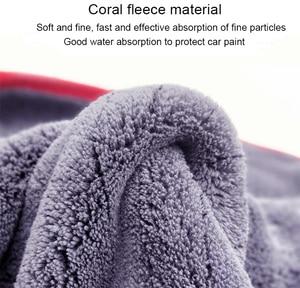 Image 5 - Premium Microfiber 900GSM Car Detailing Super AbsorbentTowel Ultra Soft Edgeless Car Washing Drying Towel 60*90cm