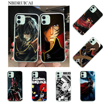 NBDRUICAI Space Pirate Captain Harlock Soft Silicone TPU Phone Cover for iPhone 11 pro XS MAX 8 7 6 6S Plus X 5S SE XR cover(China)